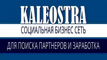 Социальная бизнес сеть KALEOSTRA!